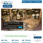 La Pine's ReStore Now Has A Home On The Web